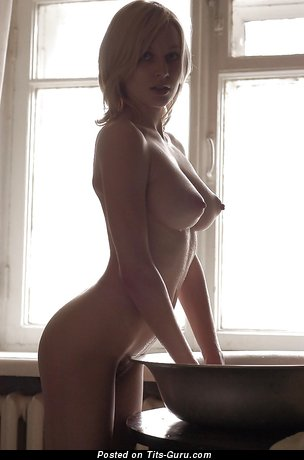 Image. Naked beautiful girl with big tits image