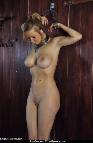 Image. Sexy topless amateur blonde photo