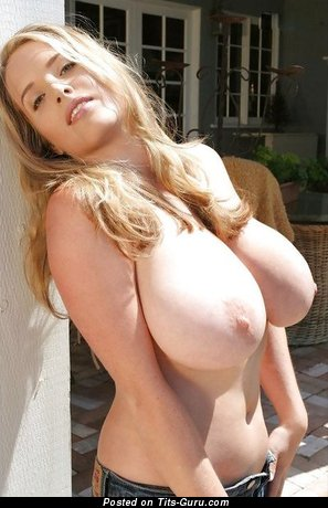 Image. Amazing female with huge natural breast picture