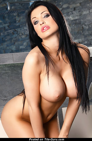 Aletta Ocean - Charming Hungarian Lady with Lovely Exposed Sizable Tots (Porn Picture)