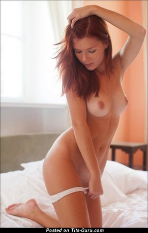 Image. Nude hot woman with medium natural tits photo