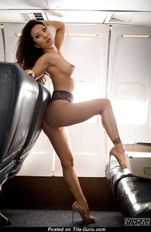 Image. Asa Akira - sexy naked asian with small natural boobs photo