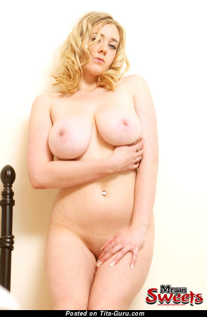Naked beautiful girl with big natural tits photo