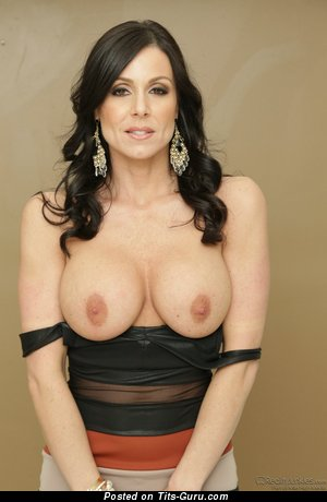 Image. Kendra Lust - sexy topless brunette with big fake tots pic