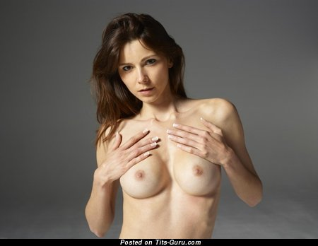 Image. Awesome female with medium natural breast image