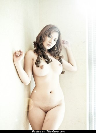 Image. Nude wonderful lady with big natural tots photo