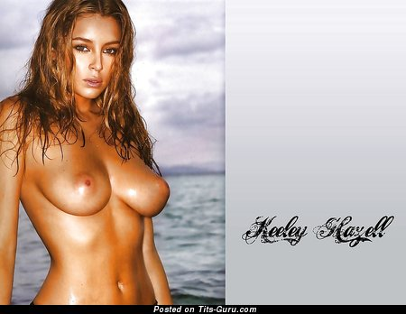 Image. Keeley Hazell - nude nice lady with medium natural tits picture