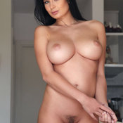 Awesome female with big natural tittes image