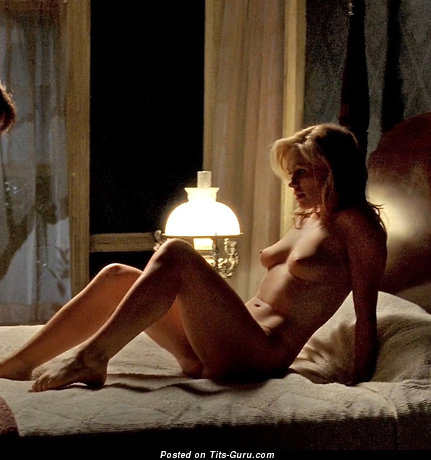 Anna Paquin - Appealing Canadian Blonde with Nice Naked Natural Tittes (Xxx Photo)