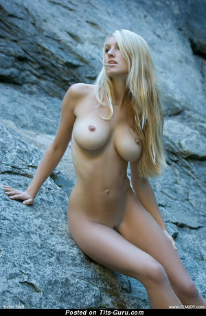 Image. Nude nice female with big breast photo