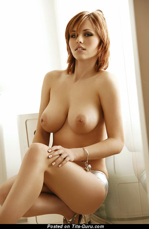 Eva Wyrwal - naked red hair with big natural boobs photo