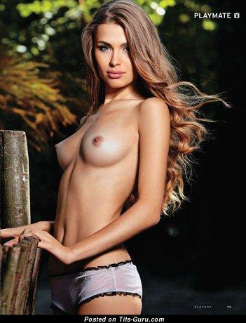 Анна Толчек - Exquisite Red Hair with Exquisite Defenseless Real Medium Titties (Hd Porn Image)