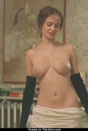 Splendid Topless Lassie with Wonderful Defenseless Real Med Titties (Sex Pix)