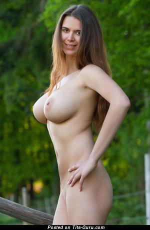 Karoline (femjoy) - The Best Red Hair with The Best Exposed Regular Breasts & Large Nipples (Hd 18+ Foto)