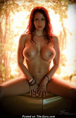 Image. Nice female with big fake breast picture