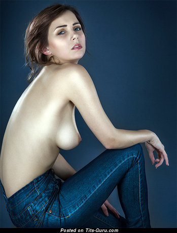 Image. Nikita Klaestrup - nude hot lady with medium natural boobies image