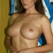 Kyla Cole - nude brunette with medium natural boobs picture