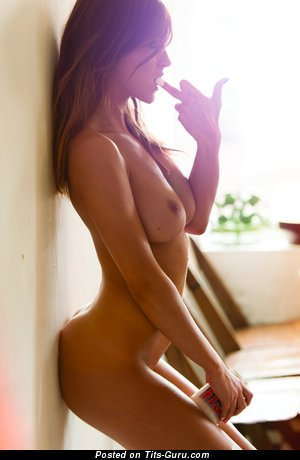 Image. Rosie Jones - naked red hair with medium natural tittys pic