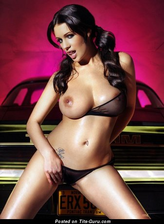 Awesome Topless Doxy with Awesome Exposed Very Big Titty & Tattoo (Sexual Pix)