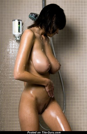 Image. Ala Passtel - nude awesome female with huge natural tots pic