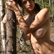 Felicity Fey - amazing female with big natural breast image