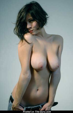 Image. Wonderful female with big natural tits image