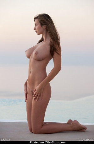 Image. Nude amazing girl with big natural boob image