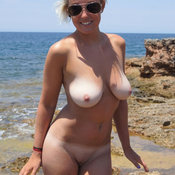 Wonderful girl with big natural breast pic