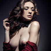 Olga Kobzar - awesome woman with big natural breast pic