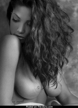 Topless amazing lady photo