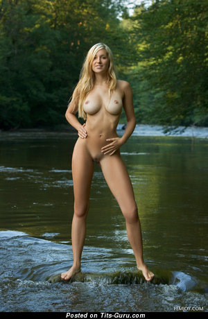 Image. Daniela Rosch - sexy topless blonde pic