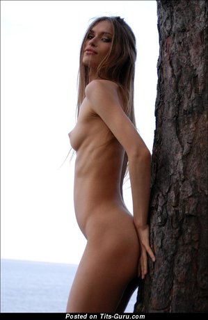 Image. Naked nice female with small natural breast pic