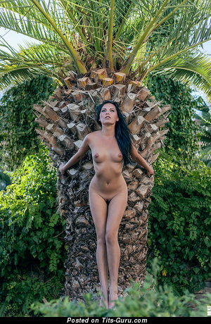 Image. Naked hot lady with medium natural tittys picture