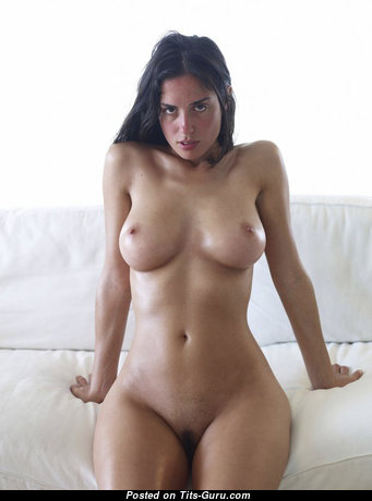 Exquisite Brunette with Exquisite Bald Real C Size Boob & Sexy Legs (Sex Pix)