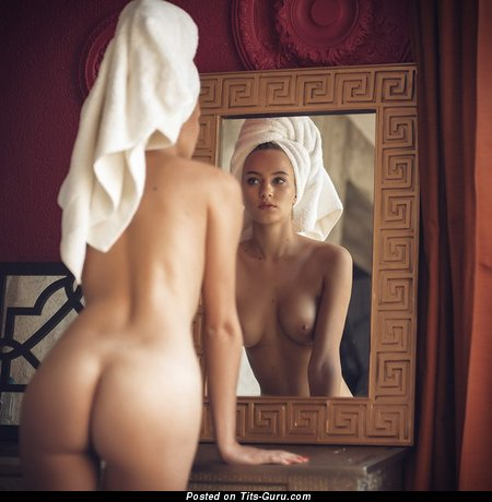Image. Sexy topless amateur nice lady photo