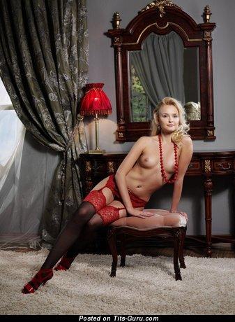 Image. Wonderful woman with medium natural tittes image