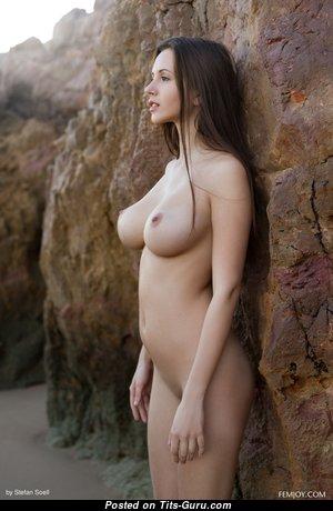 Alisa Amore (aka Alisa I) - Pretty Topless Lassie (Hd Porn Photo)
