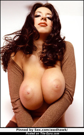 Image. Nude awesome woman with huge natural breast image