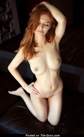 Image. Naked beautiful woman with natural tittys picture