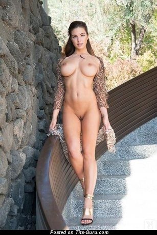 Naked wonderful woman with big boobs photo