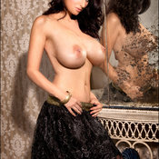 Sammy Braddy - brunette with huge natural tittys photo