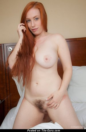Image. Titania - naked red hair with big boobies picture