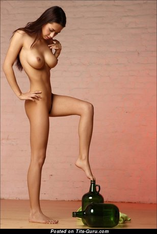 Image. Nude amazing woman with medium tittys photo