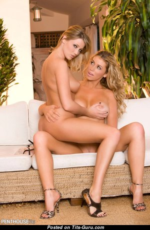 Alisha King & Exquisite Unclothed American Blonde Pornstar, Kissing Girls & Lesbians (Hd Porn Picture)