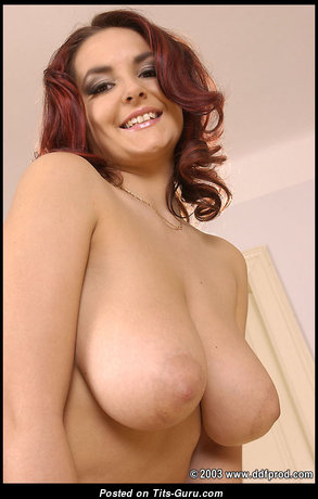 Adrianna O. - Grand Czech Red Hair Babe with Grand Defenseless Real Average Tit (Porn Image)
