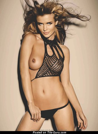Image. Joanna Krupa - nude red hair with medium tittes picture