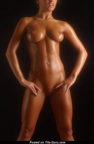 Image. Naked amazing lady with medium boob photo