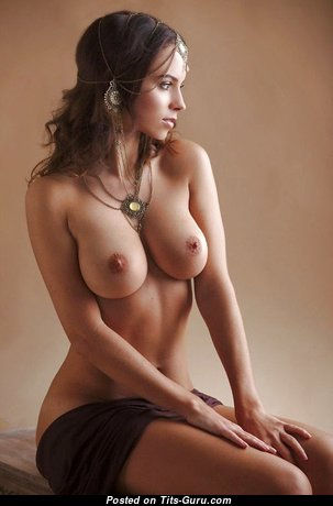 Magnificent Babe with Magnificent Nude Medium Boobies (18+ Photoshoot)