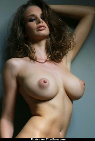 Emily Florence - Alluring Brunette Babe with Alluring Naked Real Medium Sized Titties (Sexual Photoshoot)
