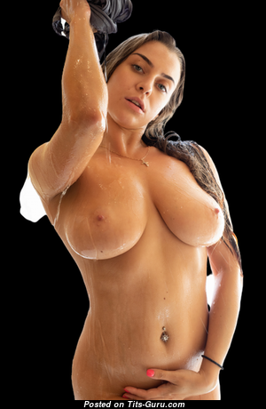 Hot Babe with Hot Open Natural Soft Boobies (Sexual Picture)